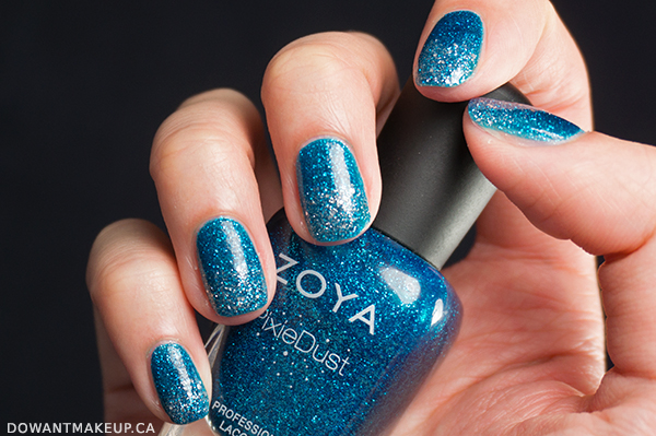 Zoya Liberty PixieDust swatches
