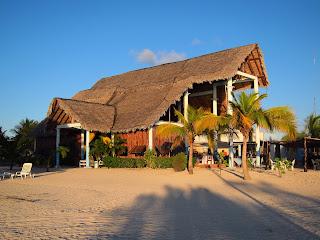 Playa Pesquero restaurant on the beach