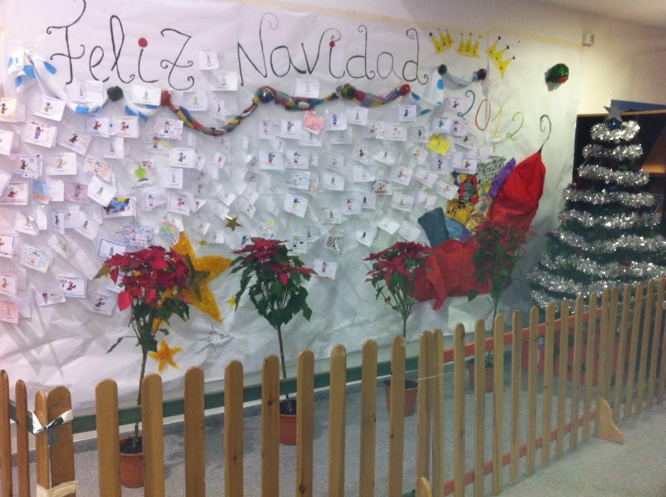 Escuela infantil kink n diciembre 2012 - Murales decorativos de navidad ...