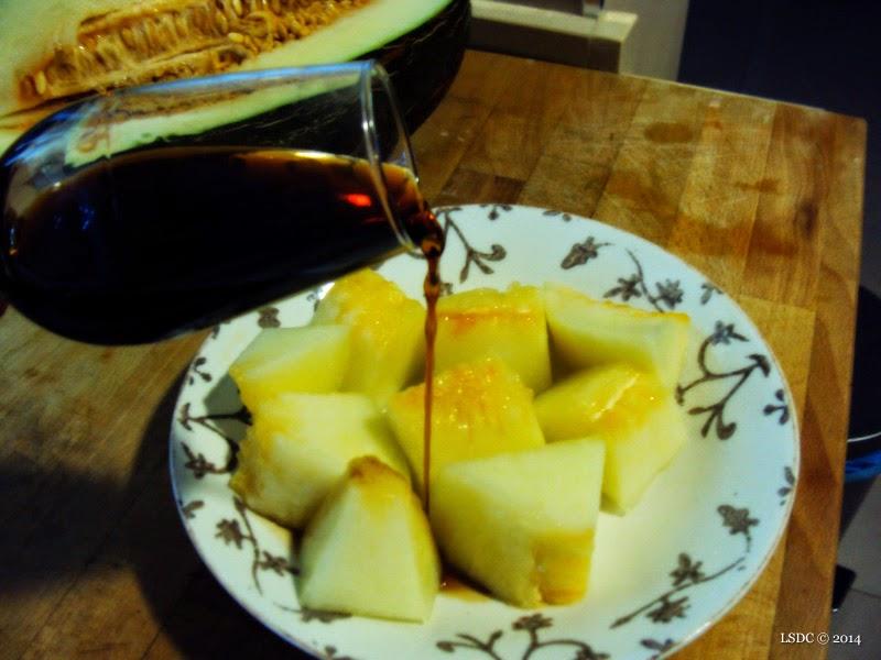 Pedro Ximénez y melón