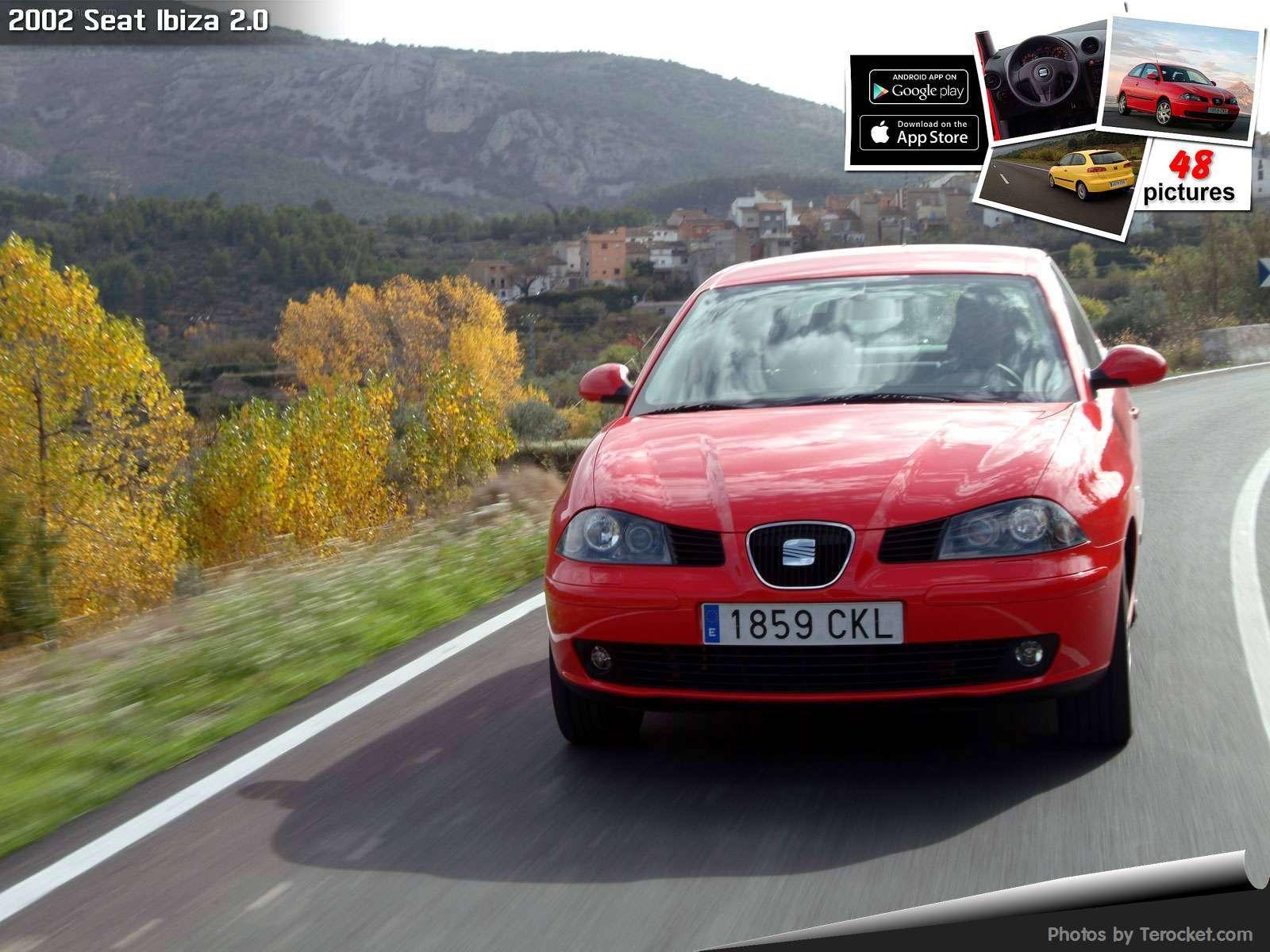 Hình ảnh xe ô tô Seat Ibiza 2.0 2002 & nội ngoại thất