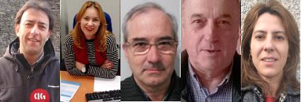 Candidatura 2015 CIG BBVA nas principais cidades de Galiza