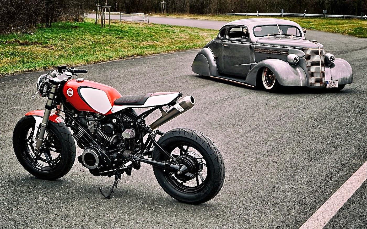 Cafe Racer Fuel Tank Yamaha