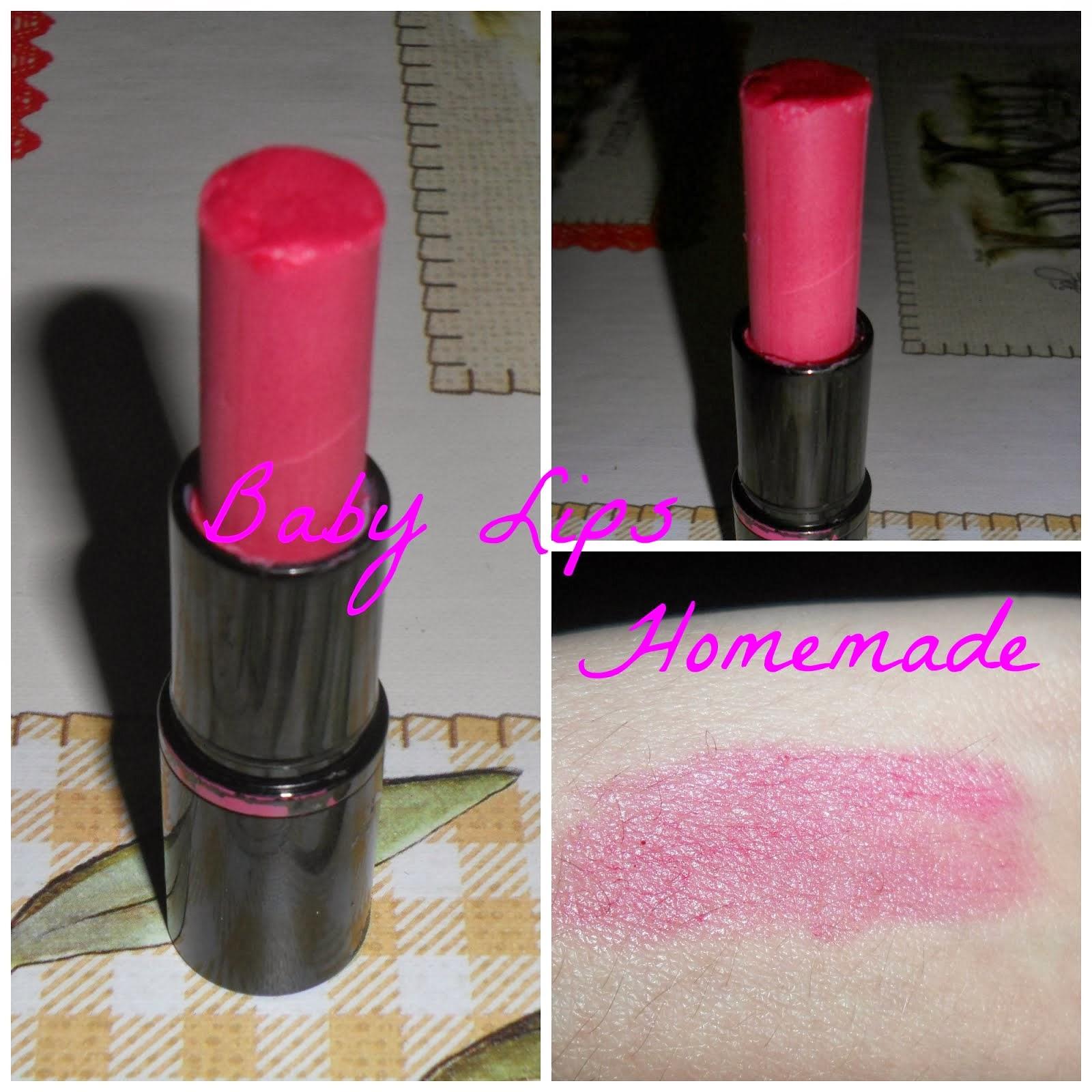 Baby Lips Homemade