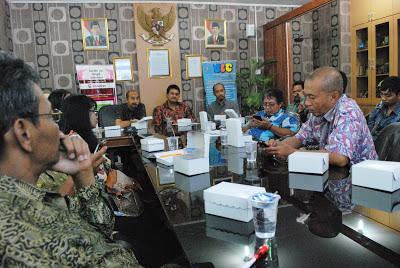 KIM Swaraguna Menjadi Tujuan Study Banding KIM Kota Malang