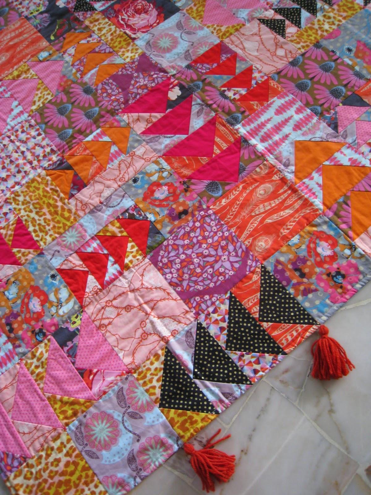 Field Study quilt