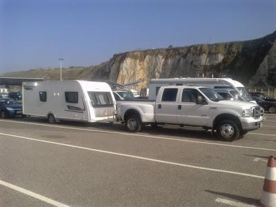 UK Spain caravan delivery service