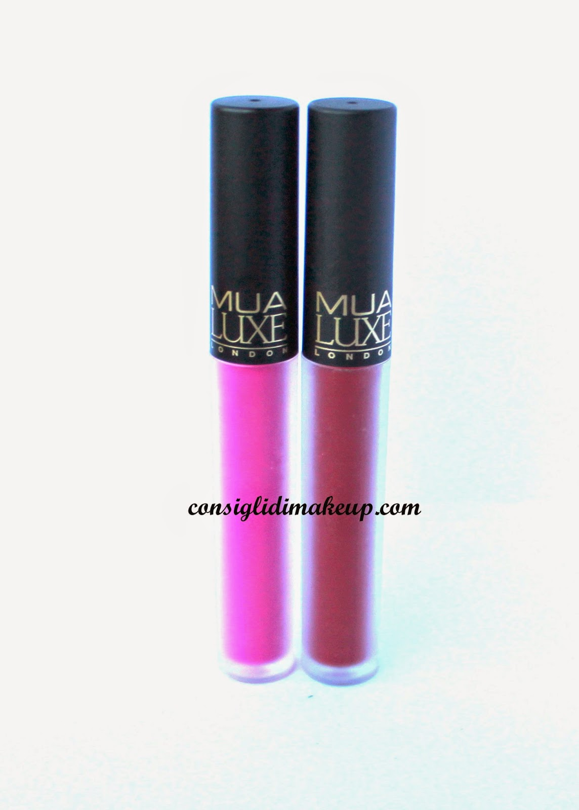Review: Luxe Velvet Lip Lacquer Criminal & Reckless - Mua Cosmetics