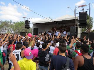 Diocese de Mossoró realiza a 19ª Romaria da Juventude no Santuário do Lima, Patu - RN