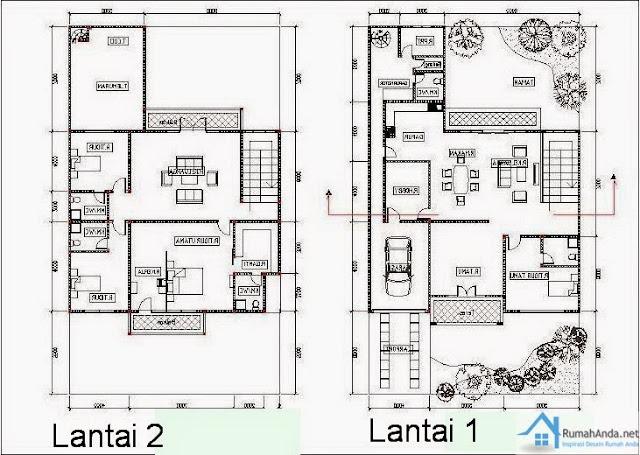 desain rumah minimalis 2 lantai type 36 70 harga rumah tipe