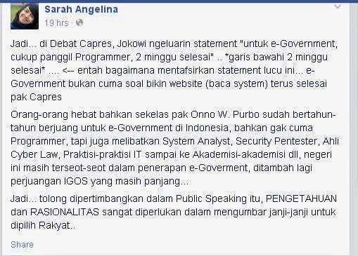 Jokowi 2 minggu selesai
