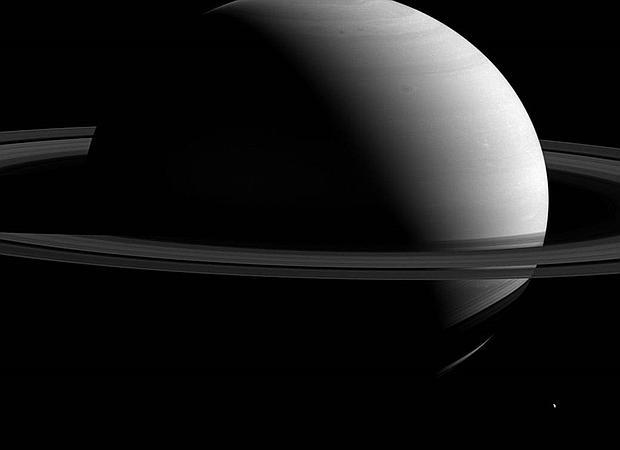 Saturno en todo su esplendor