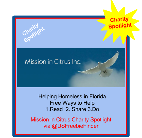 image USA Freebie Finder- Mission in Citrus Florida - Charity Spotlight
