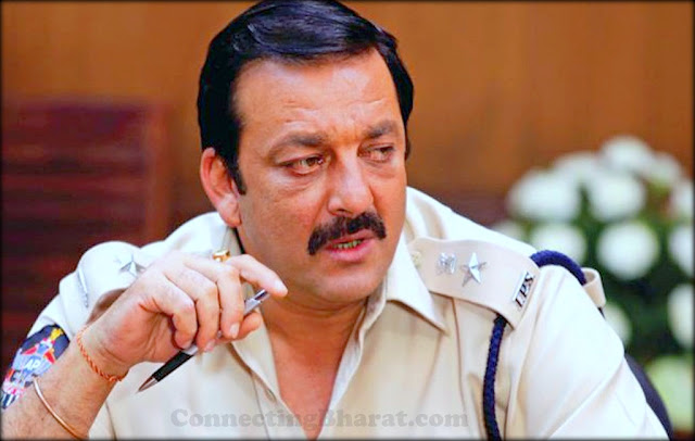 Sanjay Dutt as Police inspector in Policegiri movie 2013