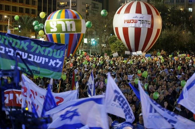 Protesto contra Netanyahu