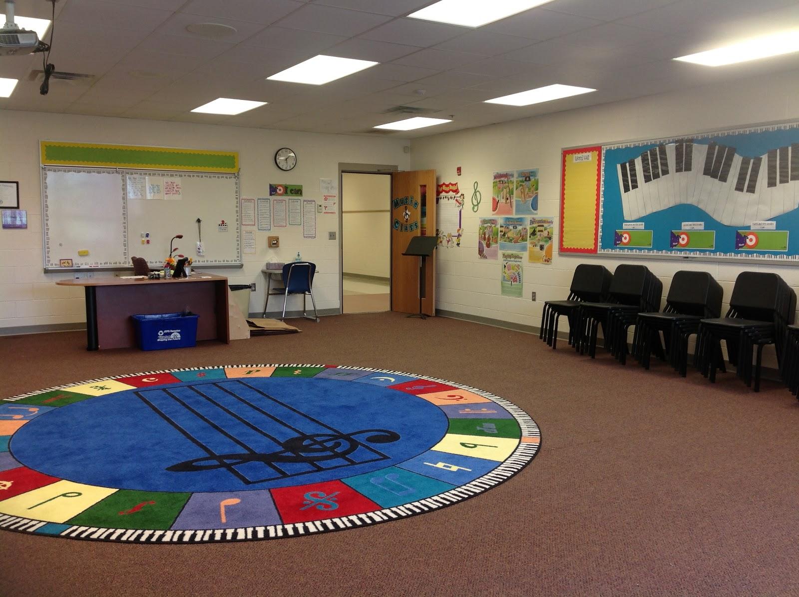 Elementary Music Room Decor