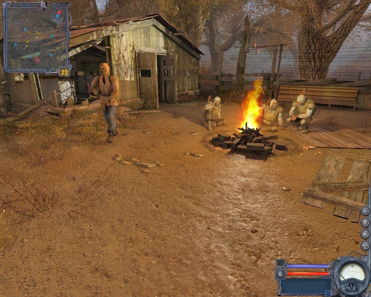 S.T.A.L.K.E.R.: Clear Sky Action Games