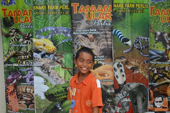 Gambar Sekitar Taman Ular dan Reptilia Negeri Perlis (Snake Farm Perlis)