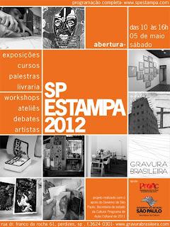 SP ESTAMPA 2012 - o maior evento de gravura do Brasil