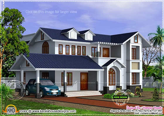 House plan other view