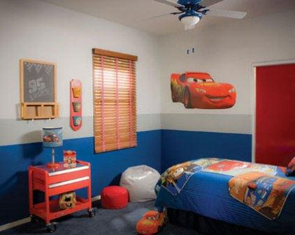 Disney Cars themed bedroom