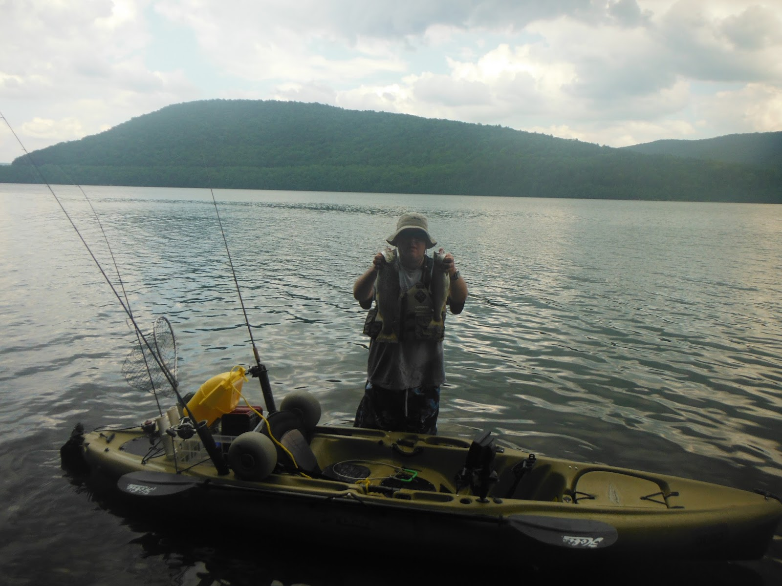 Long island kayak angler catskill kayak fishing jamboree for Roscoe ny fishing