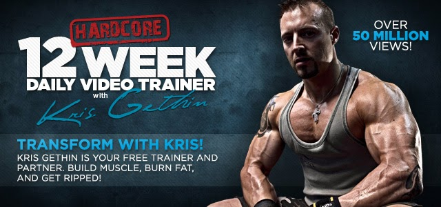Kris Gethin 12 Week Daily Video Trainer