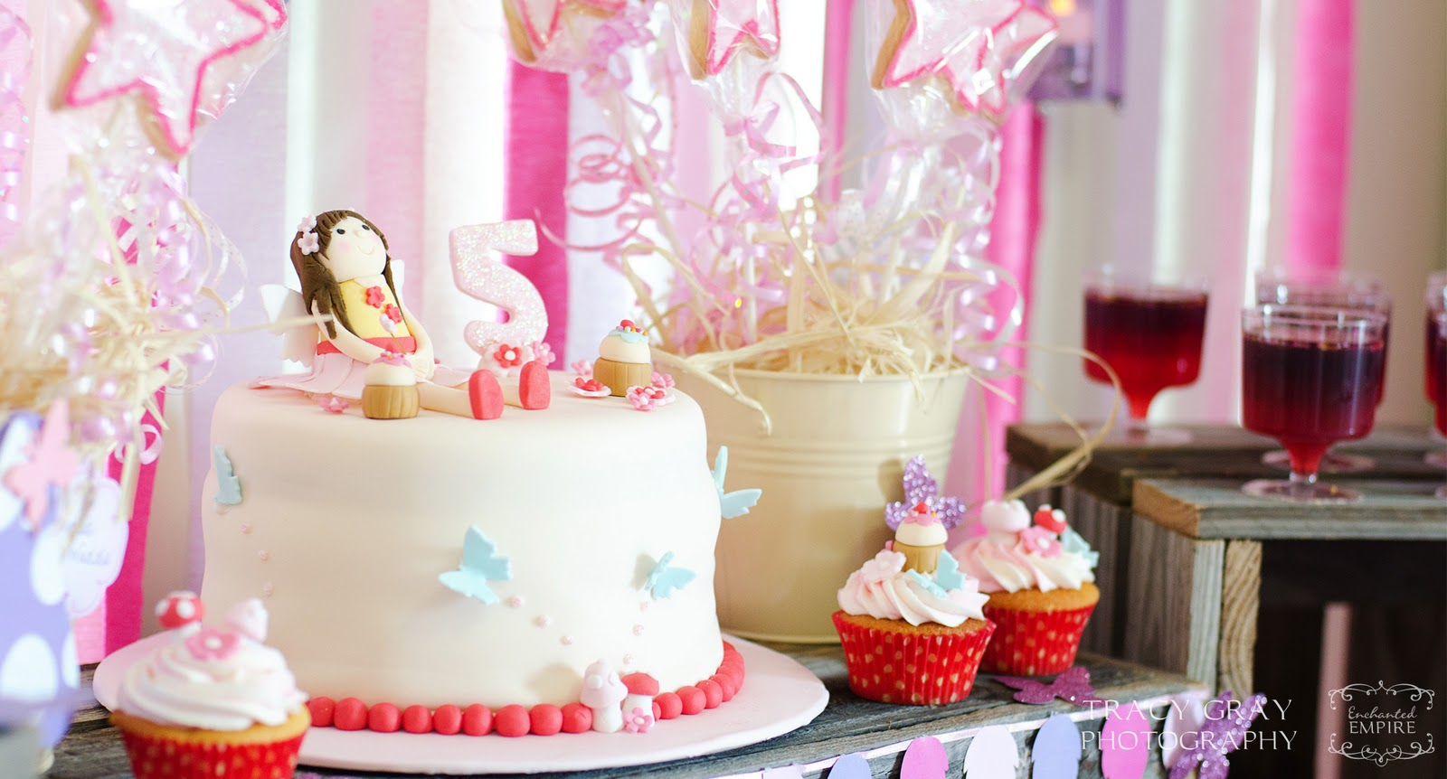 Kara s Party Ideas Enchanted Fairy Birthday Party Kara s ...