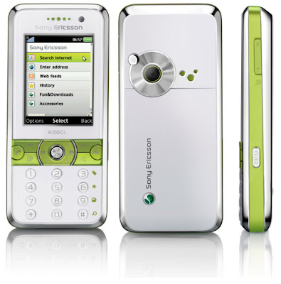 download all firmware sony, fitur and spesification sony ericsson k660i
