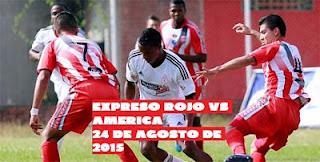 Expreso Rojo vs América En vivo por fecha 23 del torneo águila lo transmitirá Win Sports