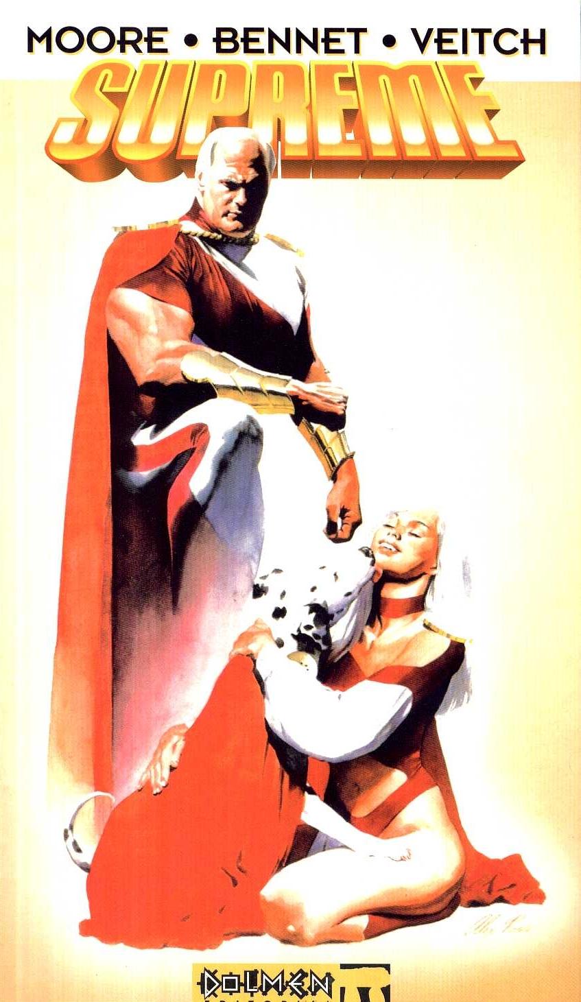Supreme par Alan Moore : La meilleure histoire de Superman ? dans culte supreme+alex+ross+alan+moore