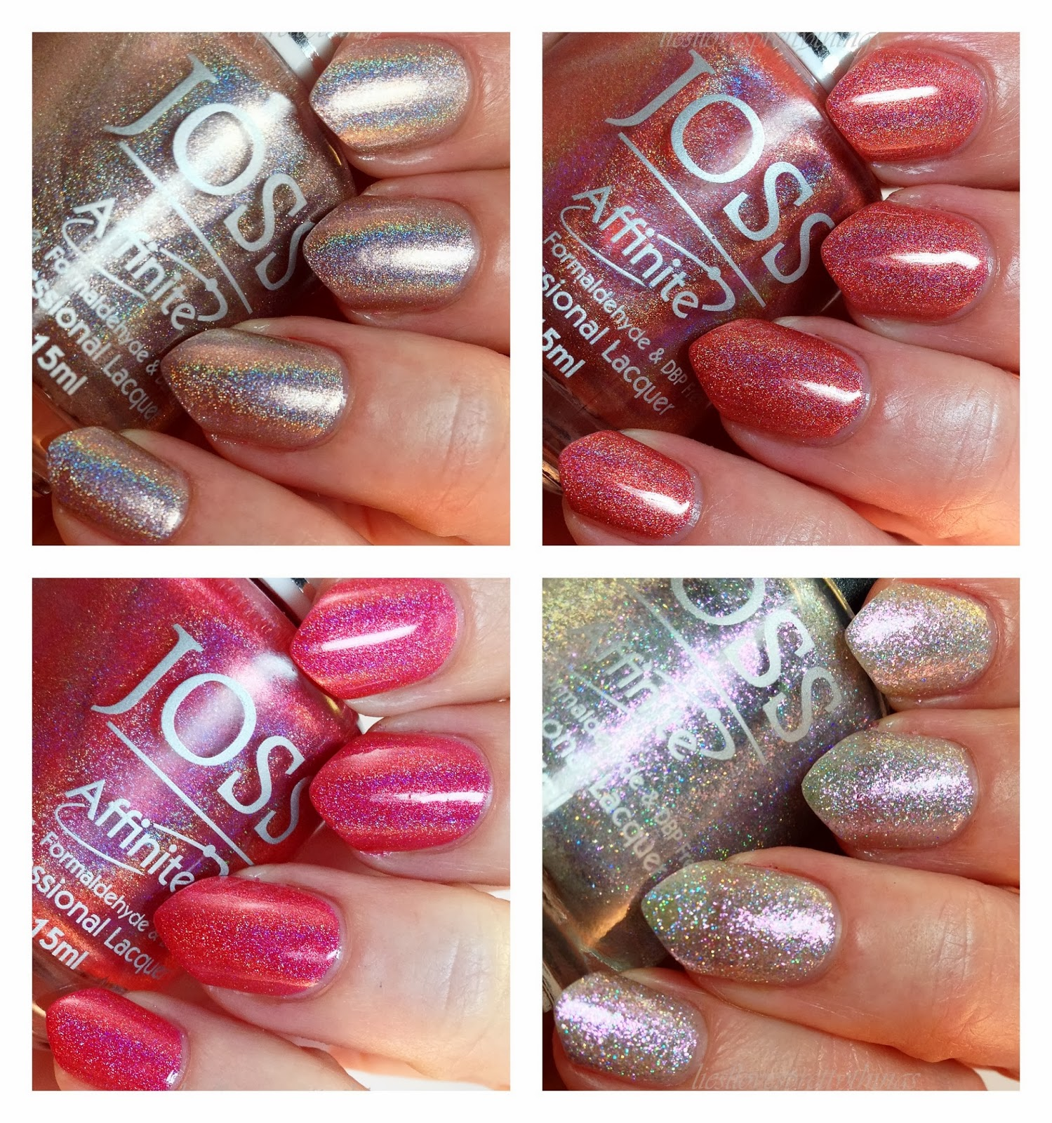 Joss Affinite swatches and review