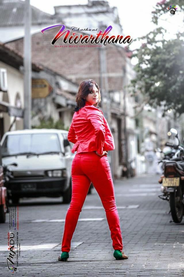 Chathuni Nivarthana ass red