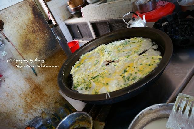 淡水老街無名中式早餐店