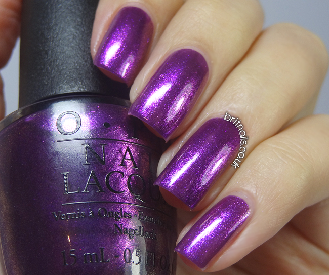 OPI Purple-iscious - Special Edition Polish Swatches   Brit Nails