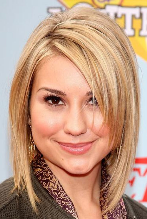Medium Short Hairstyles 2014 Women