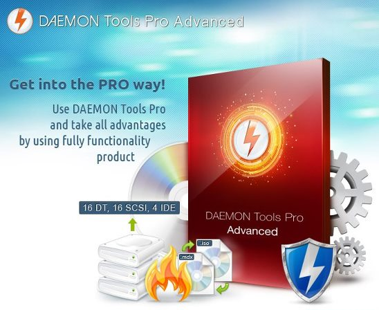 DAEMON TOOLS PRO ADVANCED 5.4.0.0377 FULL VERSION AND CRACK