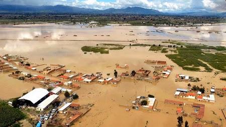 INUNDACIONES DEJAN 15 MUERTOS Y MAS DE 10 MIL AFECTADOS EN BOLIVIA, 19 DE ENERO 2015