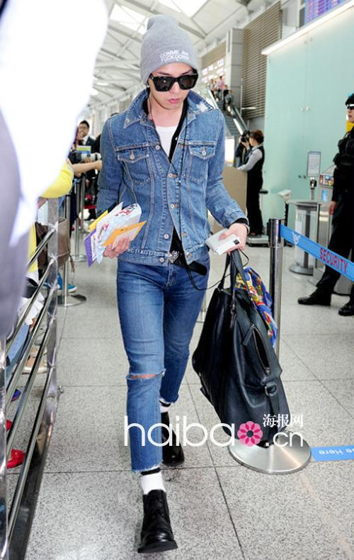 g-dragon airport fashion 121605