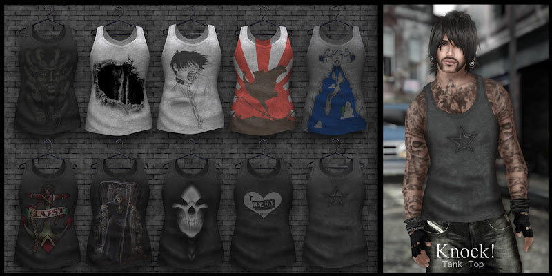 Knock! Tank Tops for men :: MESH :: title=