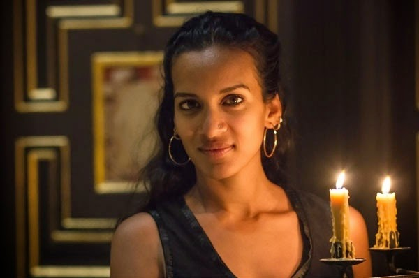 Anoushka Shankar at the Sam Wanamaker Playhouse, photo credit Helena Miscioscia
