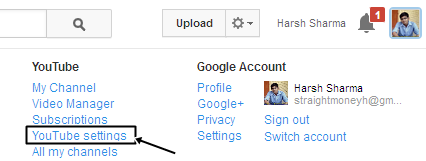 How to add Two Youtube Accounts with One Adsense Account ?