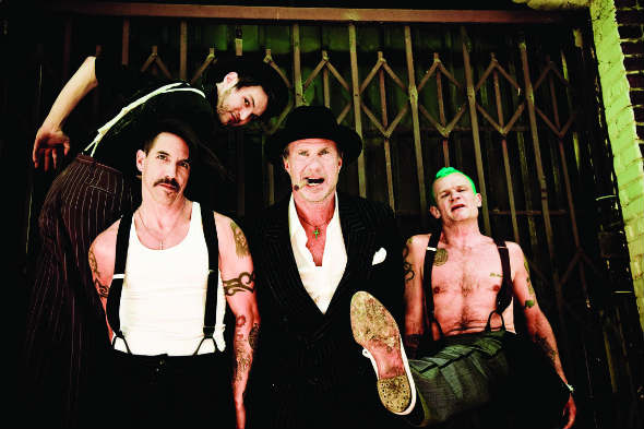Red Hot Chili Peppers+2011