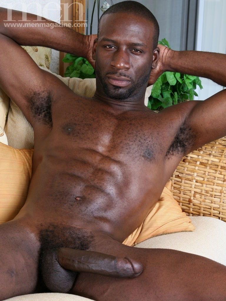 Naked big dick black men