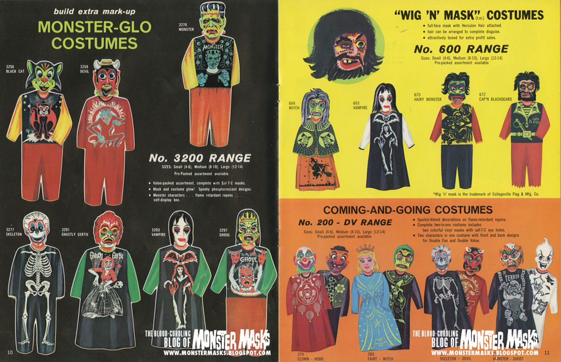 1967 Collegeville Costumes Catalog & 1967 Collegeville Costumes Catalog | Blood Curdling Blog of Monster ...