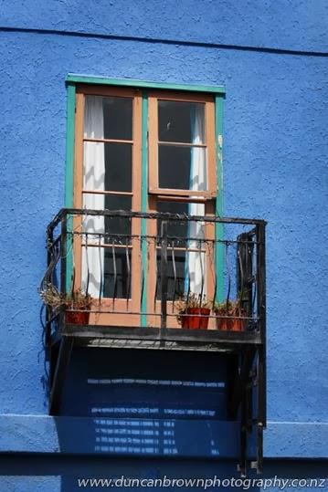 Hawke's Bay's own Mediterranean - window balcony photograph