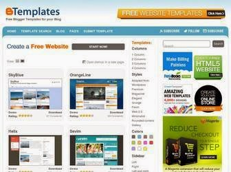 Free Blogger Website Templates Provider