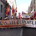 Madrid marcha contra la monarquía por la Tercera República