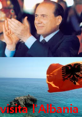 """Spot di Berlusconi sull'Albania - """"visitate l'Albania"""""""