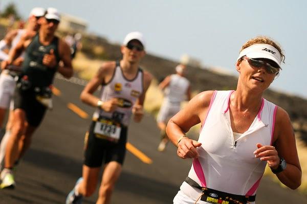 foto running ironman prueba triatlon